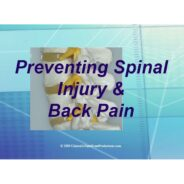 Preventing Spinal Injury Chiropractic PowerPoint