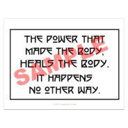Chiropractic Epigram print