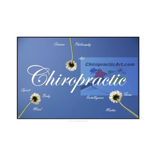 Chiropractic Art Chiropractic Triune Print Sample