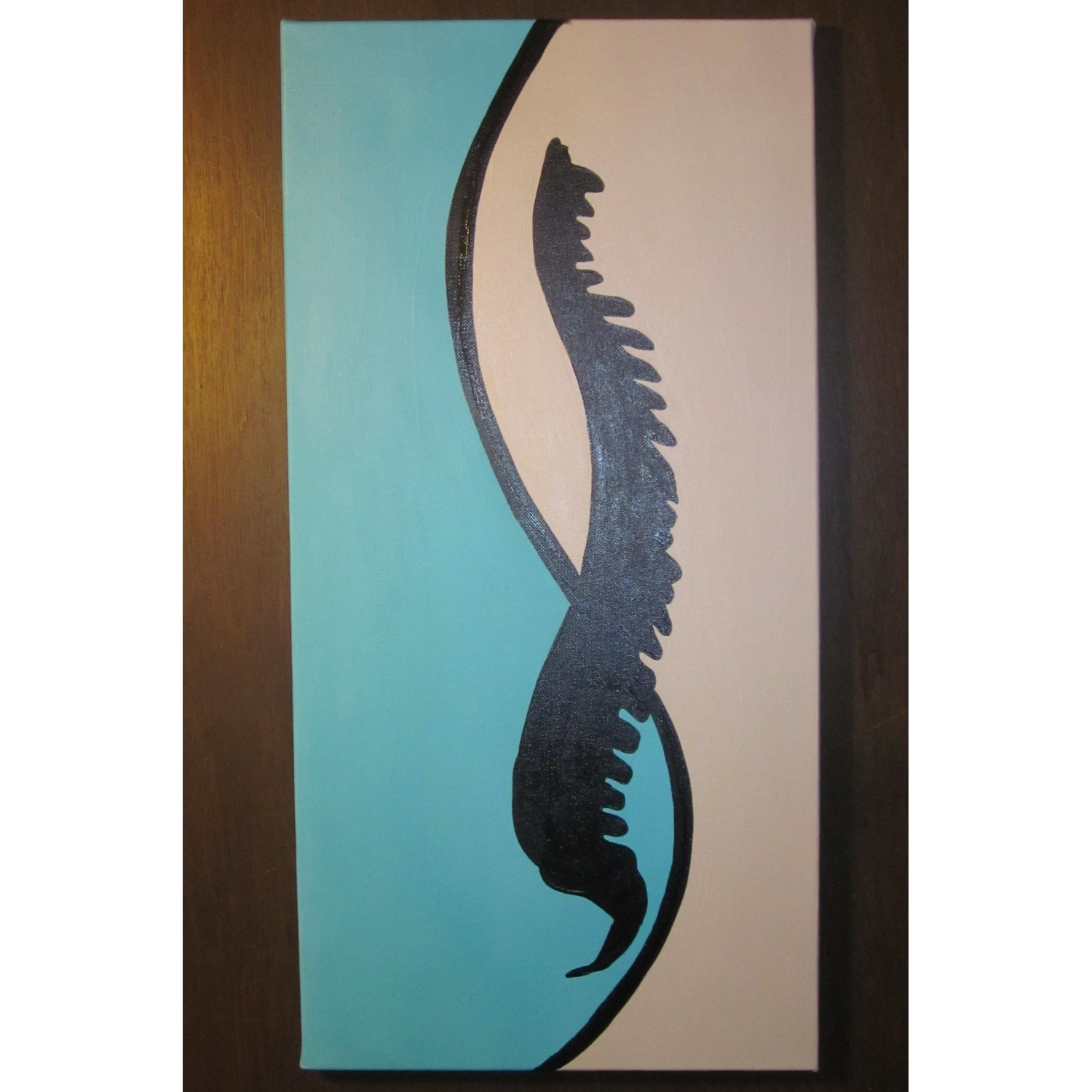 Silhouette Spine Painting – Chiropractic Art