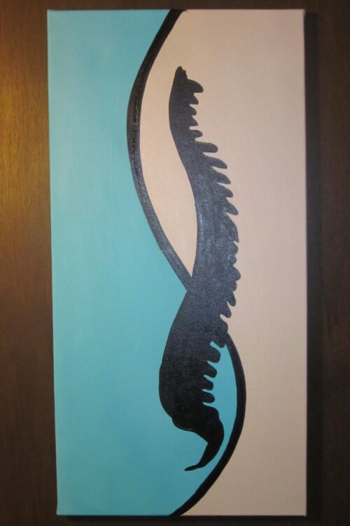 Chiropractic Yin Yang Spine Painting