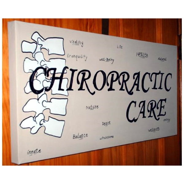 Chiropractic Art Painting