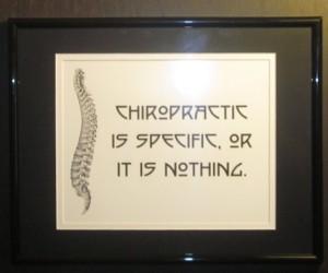 Chiropractic Art Print