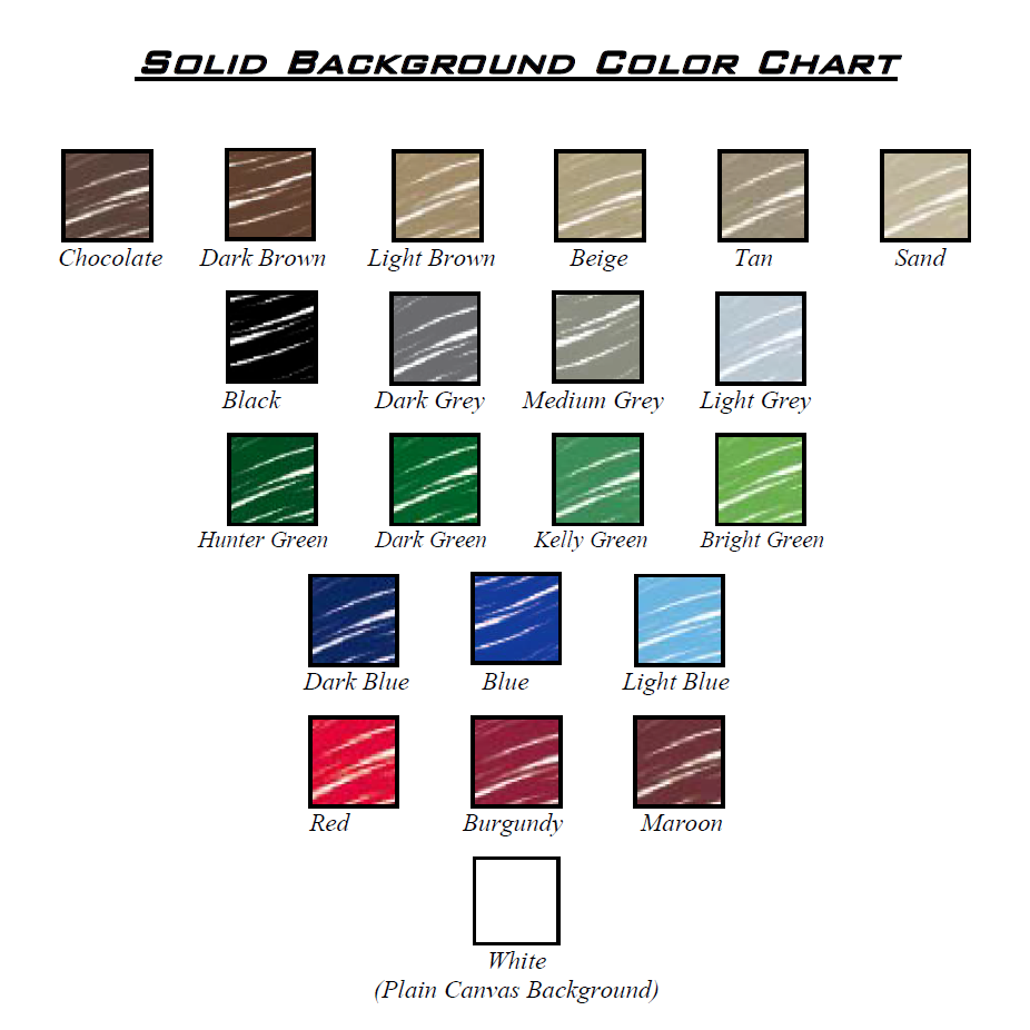 Chiropractic Art Background Colors Color Chart
