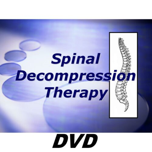 Spinal Decompression Marketing Kit Advertising Kit DVD and PowerPoint