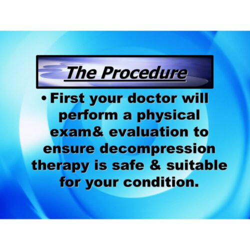 Spinal Decompression PowerPoint CD