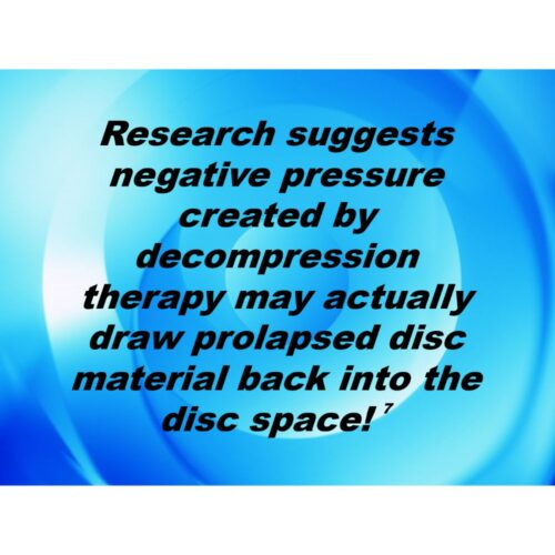 Full Spinal Decompression Marketing Kit advertising kit